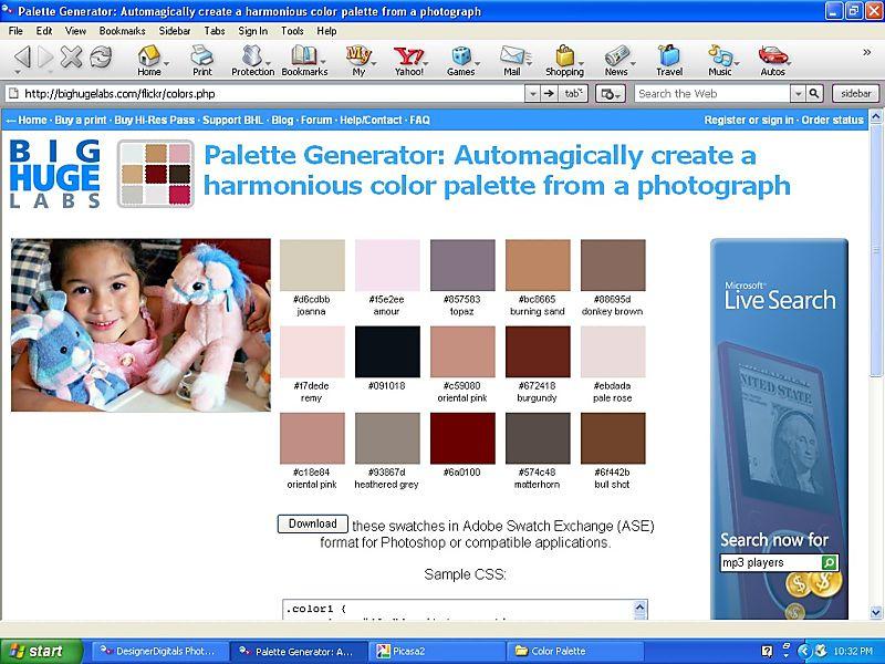 Palette Generator 2