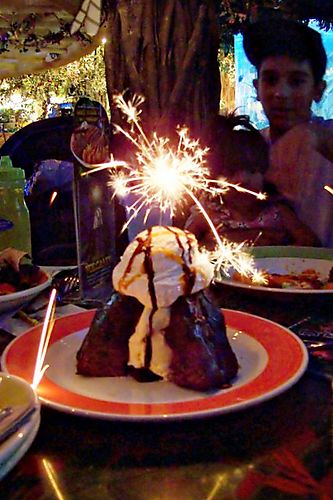 The Volcano at Rainforest Cafe