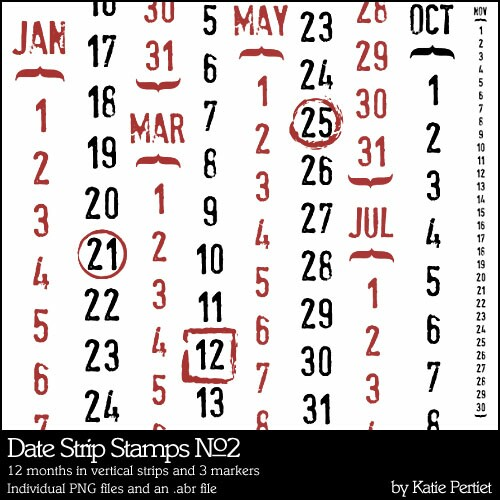 Date Strip Stamps No. 2