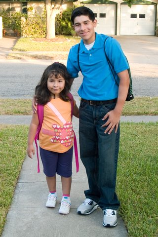 2009-08-24 First Day of School 003